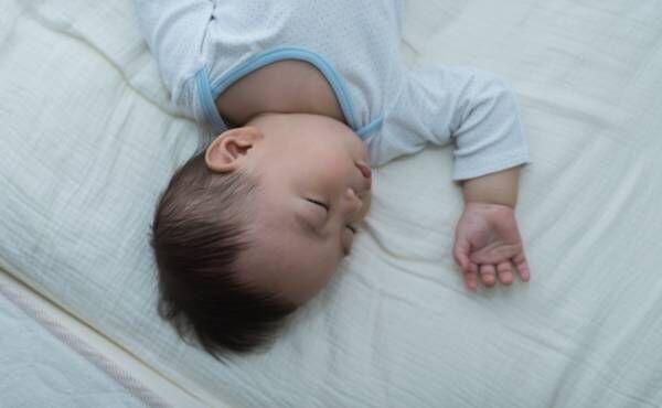 赤ちゃんが寝やすい環境のイメージ