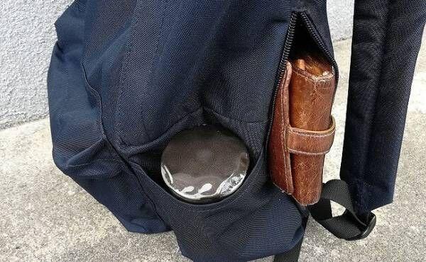 リュック内ポケット