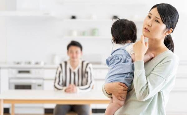 ワンオペ育児のイメージ