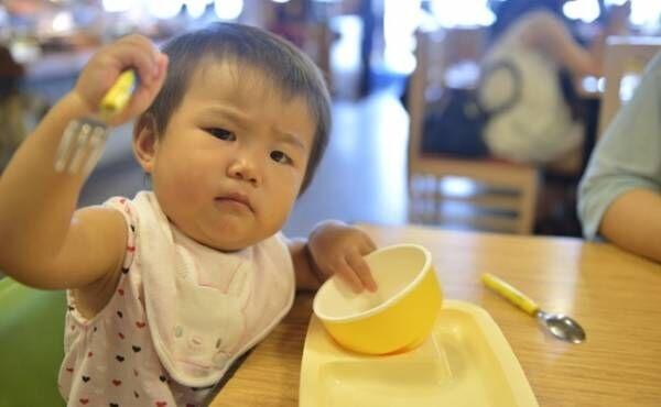 怒っている赤ちゃんのイメージ