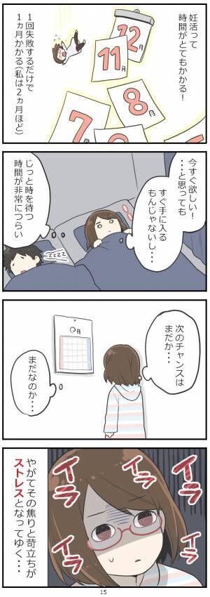 「妊活レベル1 まっふの冒険記」第15話