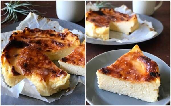 最高傑作かも…syunkonバスク風チーズケーキが簡単激うまと話題!