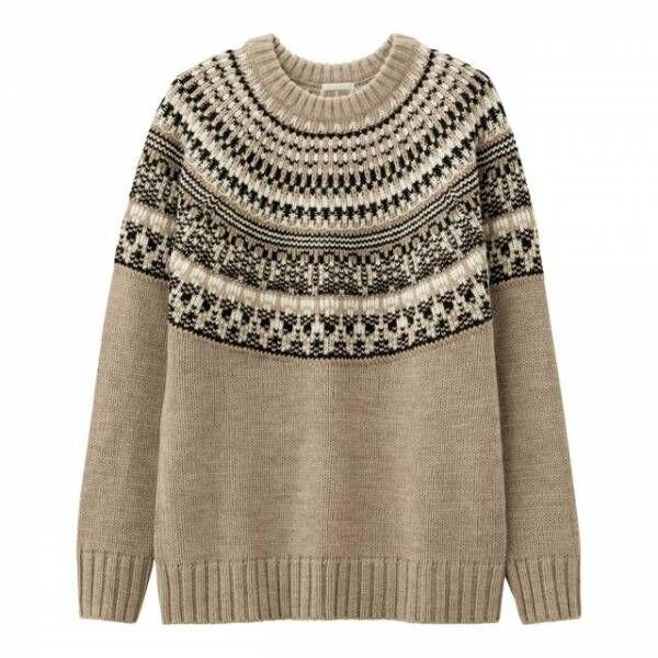 【GU】メンズがかわいい!GUのノルディックセーターはGETしたい♡