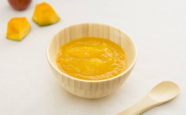 5~6カ月ごろ(離乳食初期)のレシピ「かぼちゃと玉ねぎトロトロ煮」