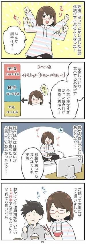 「妊活レベル1 まっふの冒険記」第19話