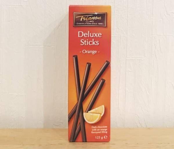 カルディのトリアノンスティックチョコレート ダークオレンジ