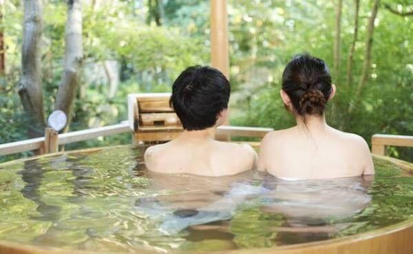 夫婦で温泉