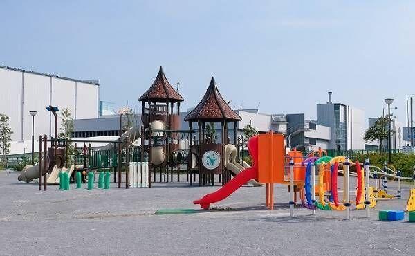 公園のアスレチック