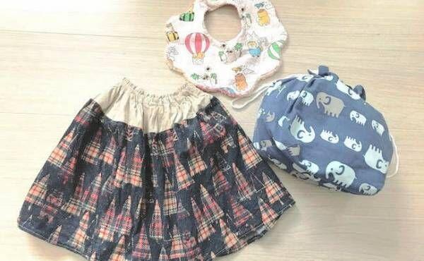 手作り子ども服など
