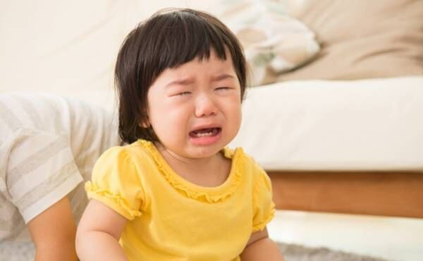 泣く赤ちゃんのイメージ
