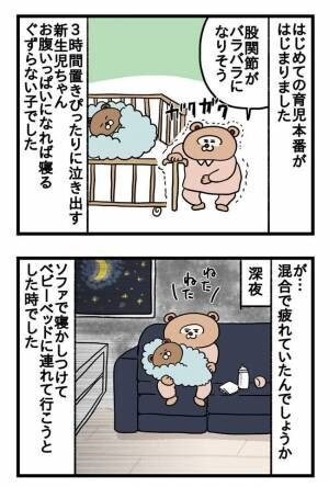 【ねこたぬのはじめて育児17】