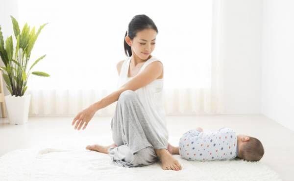 産褥体操のイメージ