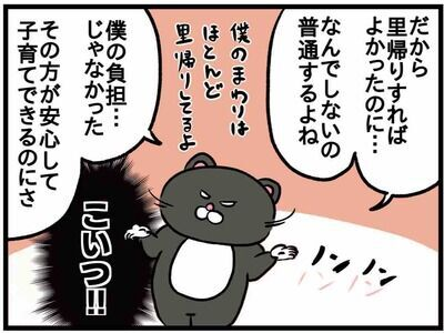 【ねこたぬのはじめて育児31】