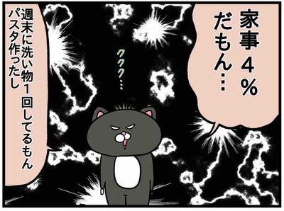 家事しないくせに!超産後クライシス!【ねこたぬのはじめて育児39】