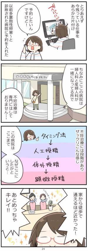 「妊活レベル1 まっふの冒険記」第24話