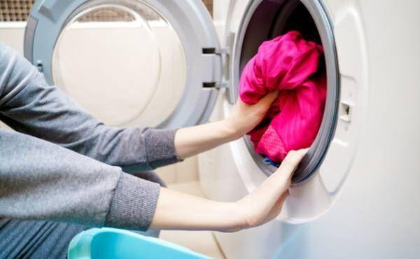 赤ちゃんの洋服の洗濯のイメージ