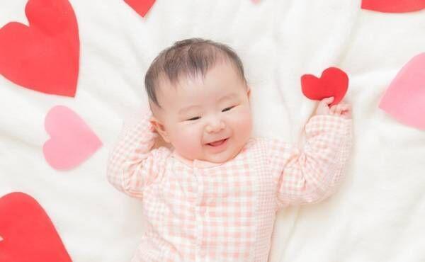 バレンタインの影響?2月生まれベビーに人気の名前TOP10【女の子】