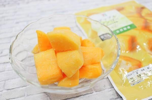 セブンイレブン冷凍フルーツ「アップルマンゴー」