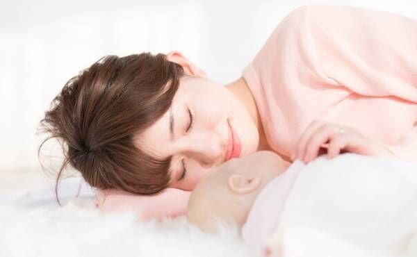 ママの睡眠時間確保のイメージ
