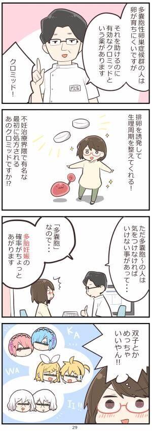 「妊活レベル1 まっふの冒険記」第29話