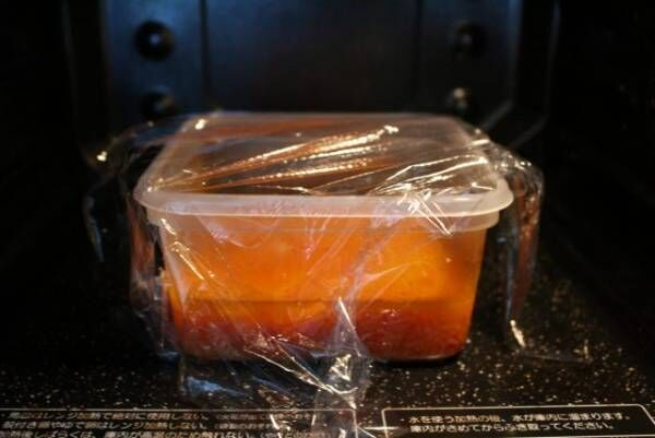 「え?これがレンジで作れるの?」フライパン不使用のオムライスレシピ6