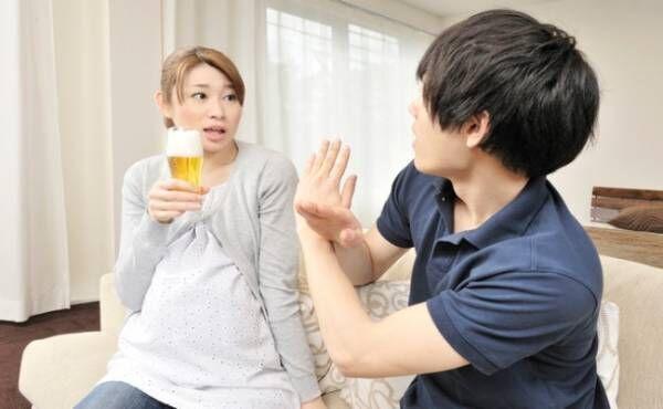 妊娠中飲酒のイメージ