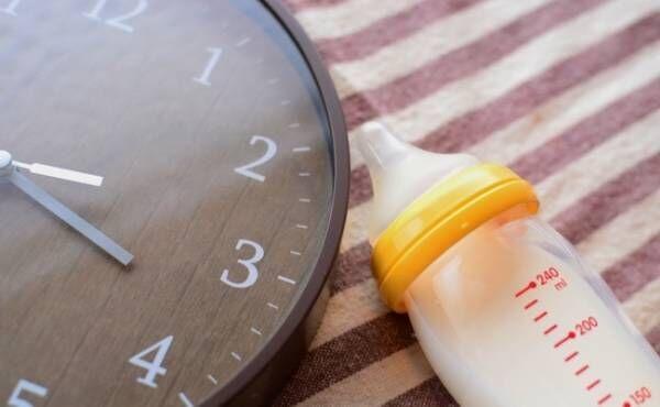 授乳の時間のイメージ