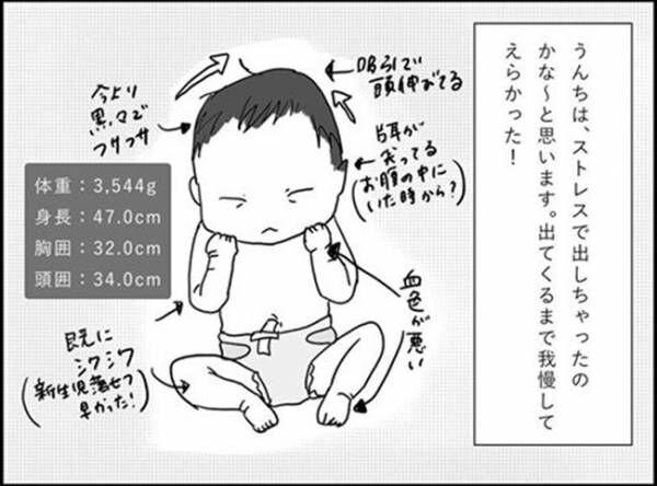 「初産にしては早かった!陣痛促進剤のおかげ…!」 #出産レポ29