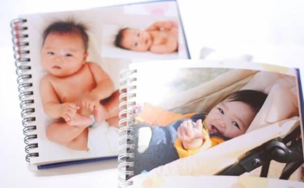 赤ちゃんの写真とアルバム