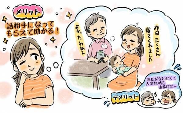 義両親との同居のイメージ