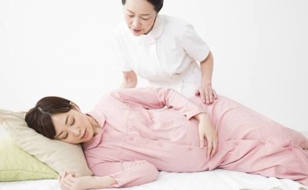 お産がスムーズになる陣痛中の過ごし方のイメージ