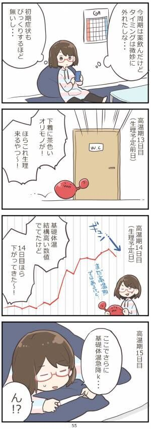 「妊活レベル1 まっふの冒険記」第55話