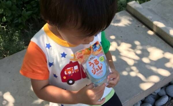 水分補給を嫌がる息子も飲んでくれた!子どもの熱中症対策に◎な飲み物