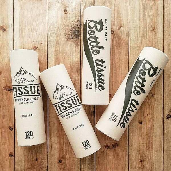 おしゃれで使いやすい★Seriaのボトル型ティッシュケースが大人気!
