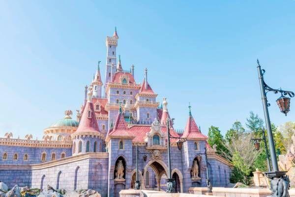 東京ディズニーランド美女と野獣の城