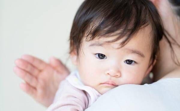 不機嫌な赤ちゃんのイメージ