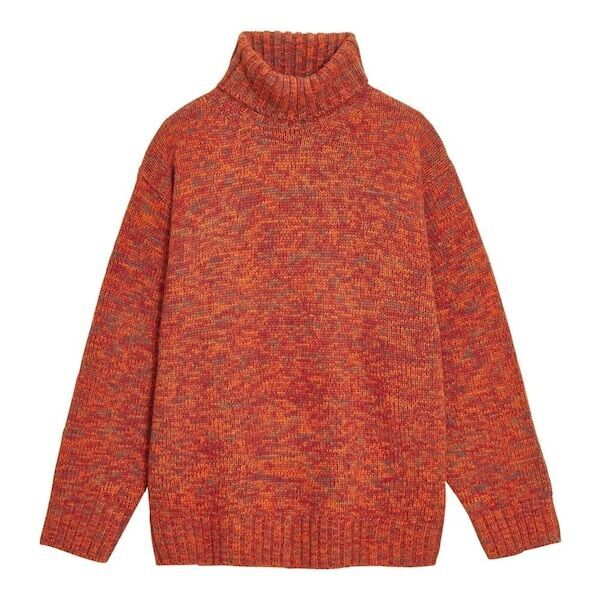 【GU】ローゲージタートルネックセーター(長袖)