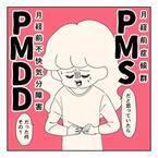 急にキタ…。そして地獄の1週間が始まる【PMSと思ったらPMDD#1】