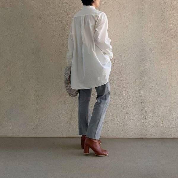 ユニクロ オーバーサイズシャツ