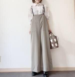 シアーシャツコーデ③
