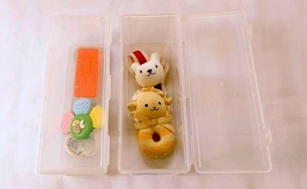 【100均】Seriaの「お箸収納ケース」が子育て中の小物整理に超使える!