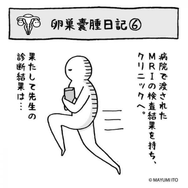 卵巣嚢腫日記。第6話