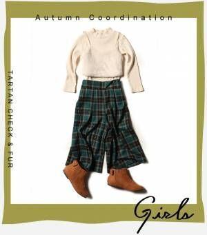 画像3: 【GU】秋のガールズアイテム旬のチェックアイテムの今年らしい着こなし