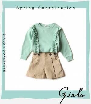 画像4: 【GU】今季注目の春カラーで可愛さ倍増計画! カジュアルコーデ・ガールズ編