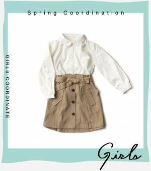 画像3: 【GU】春のキッズアイテム 定番のお出かけコーデ・女の子編
