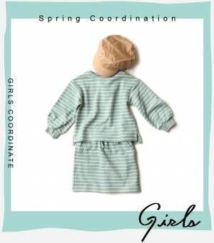 画像4: 【GU】春のキッズアイテム 定番のお出かけコーデ・女の子編