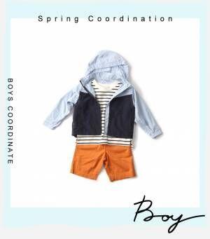 画像2: 【GU】春らしく爽やかに。スポーティコーデの着こなしポイント~Boys編~