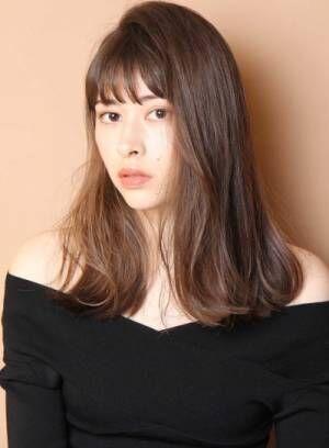 髪色を変えるだけで『美肌に見える♥』艶カラー×ロングヘア特集