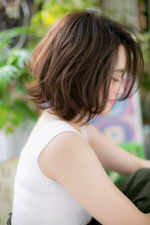人気上昇中!『前下がり』ボブ&ショート★前髪タイプ別★スタイル6選