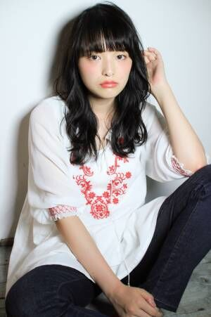 軽やかな春髪と相性バツグン☆シースルーバングで垢抜け顔に!!